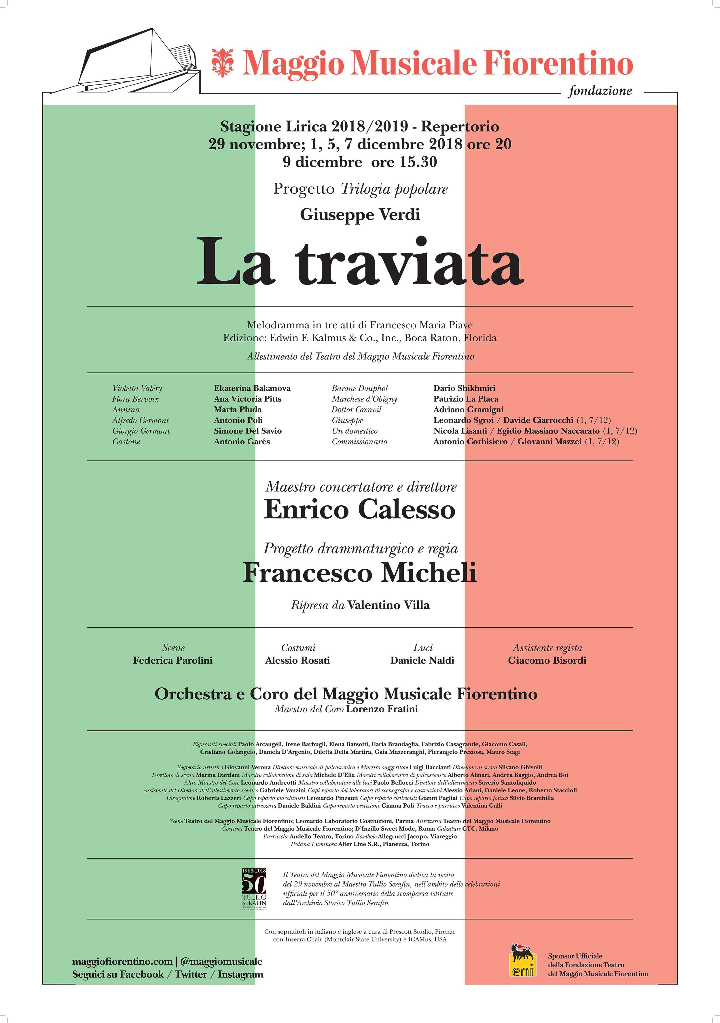 Giuseppe Rosati Calendario.La Traviata Teatro Del Maggio Musicale Fiorentino