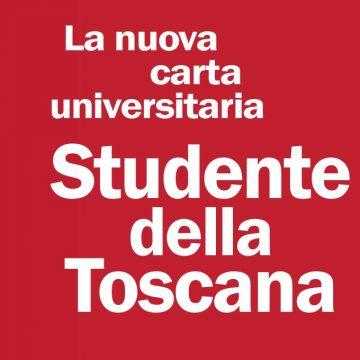 """""""STUDENTE DELLA TOSCANA"""" la nuova carta unica dello studente universitario"""