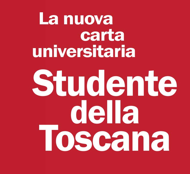 """STUDENTE DELLA TOSCANA"" the new single card for the university students"