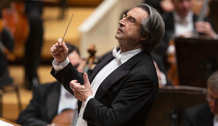Il maestro Riccardo Muti dirige la Chicago Symphony Orchestra: 20 gennaio 2020, ore 20