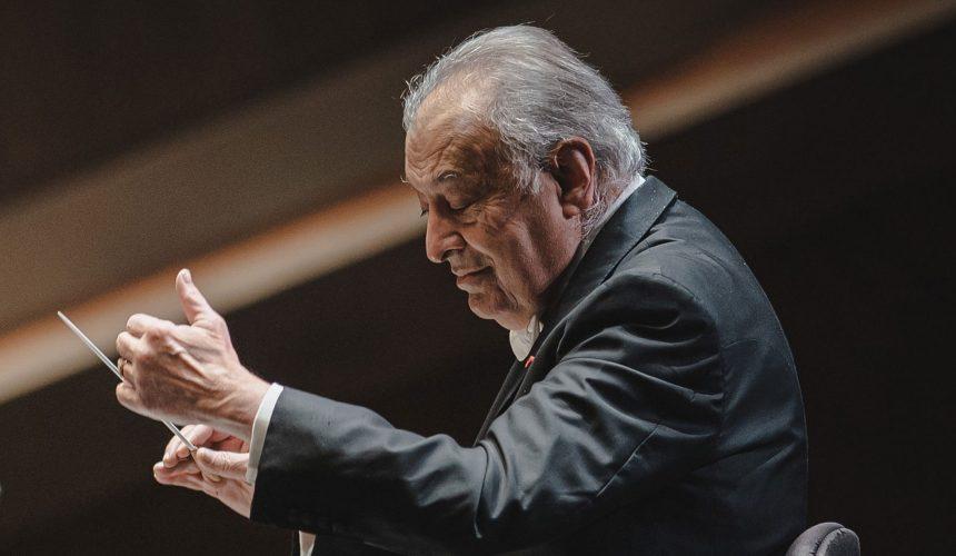 Zubin Mehta con il Maggio Fiorentino dirige il concerto di Pasqua a Orvieto